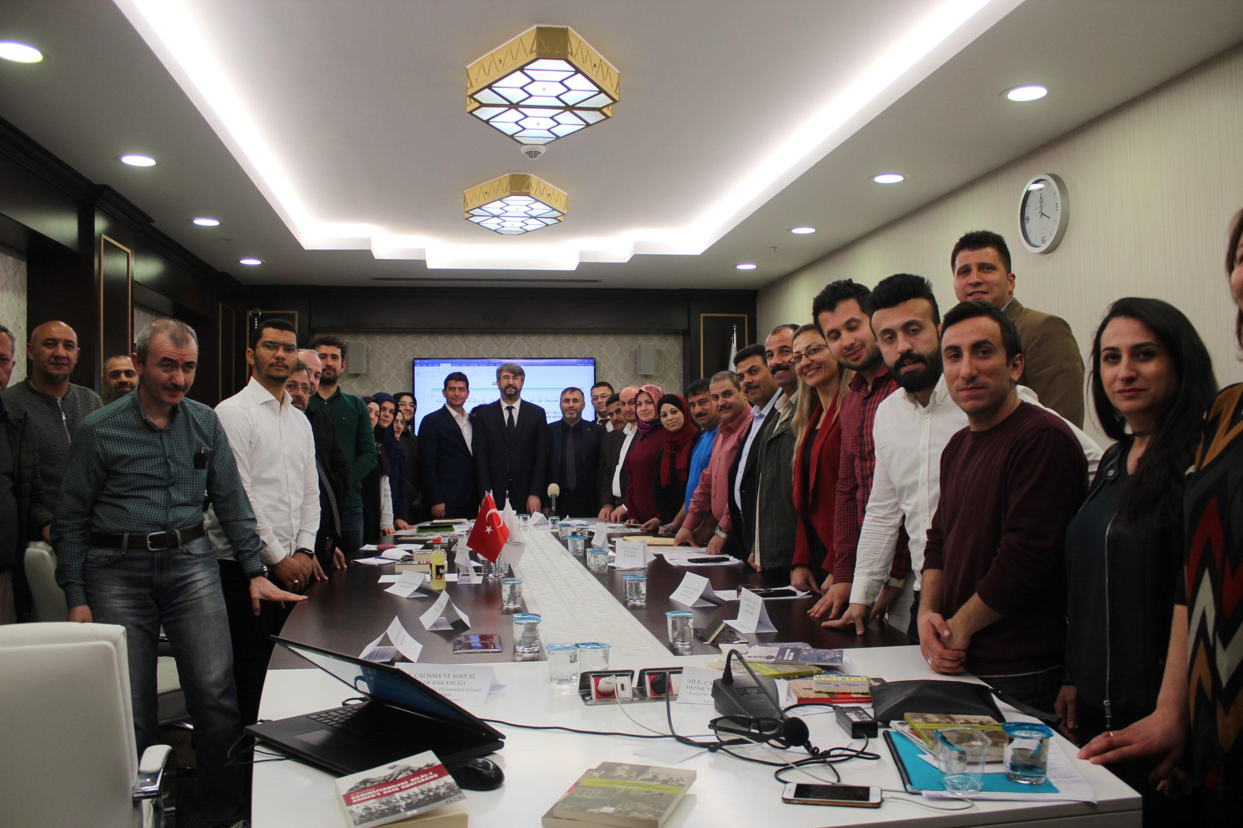 Uzman Dr. Orhan KOÇ İşaret Dili ile Kur'an ve Hadis Çalıştayı'na Katıldı