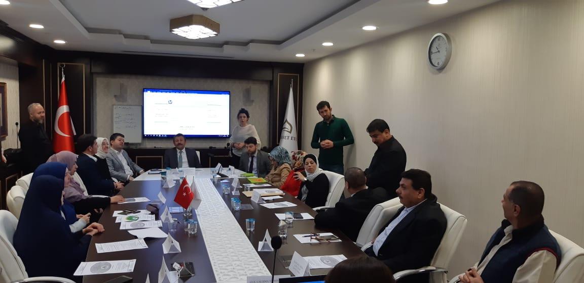 Dr. Bayram DEMİRTAŞ İşaret Dili ile Kur'an ve Hadis Çalıştayına Katıldı