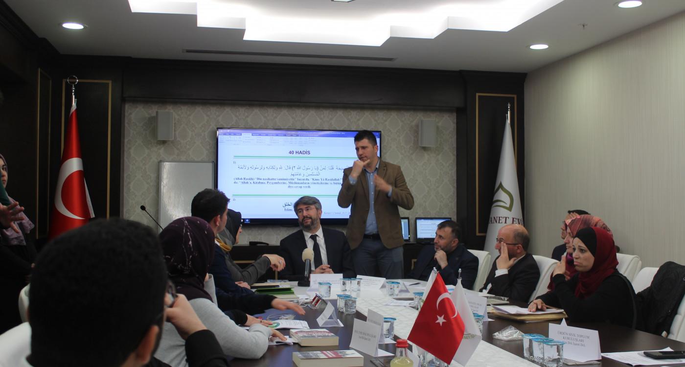 Engelli ve Yaşlı Hizmetleri Genel Müdürü Uzm. Dr. Orhan KOÇ 'Uluslararası İşaret Dili ile Kur'an ve Hadis Çalıştayı'na Katıldı